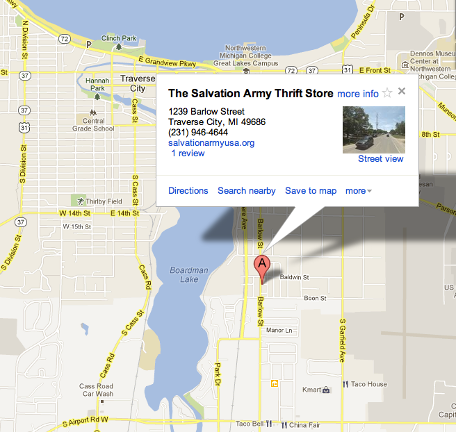 click on map for directions via Google Maps